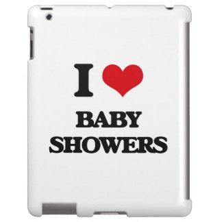 Jag älskar baby shower iPad fodral