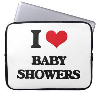 Jag älskar baby shower laptopskydd