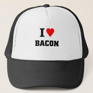 Jag älskar bacon truckerkeps