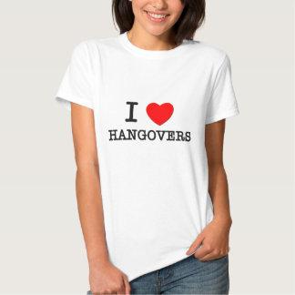 Jag älskar bakrus tshirts