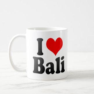 Jag älskar Bali, Indien. Mera Pyar Bali, Indien Kaffemugg
