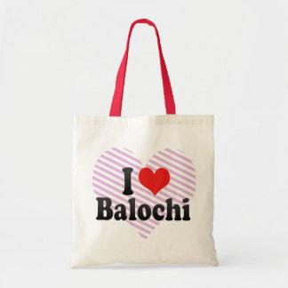 Jag älskar Balochi Tygkasse