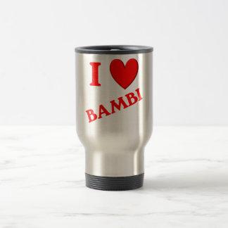 Jag älskar Bambi Kaffe Muggar
