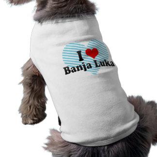 Jag älskar Banja Luka, Bosnien och Hercegovina Långärmad Hundtöja