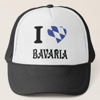 Jag älskar bavariasymbolen truckerkeps