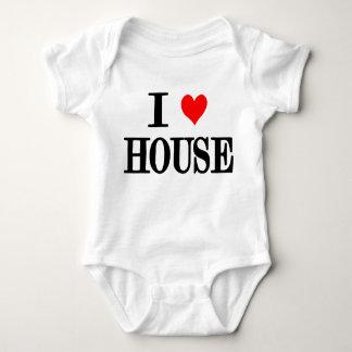 """Jag älskar bebiset för hus""""husmusik"""" en bietdj-edm tshirts"""