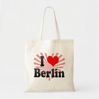 Jag älskar Berlin, Tyskland. Ich Liebe Berlin, Budget Tygkasse