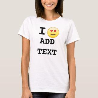 Jag älskar beställnings- T-tröja Tee Shirt