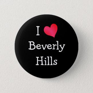 Jag älskar Beverly Hills Standard Knapp Rund 5.7 Cm