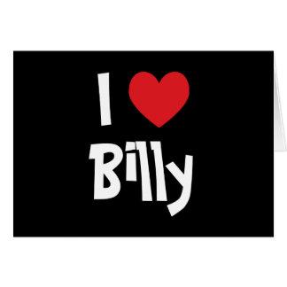 Jag älskar Billy Hälsningskort