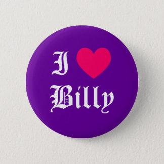 Jag älskar Billy Standard Knapp Rund 5.7 Cm