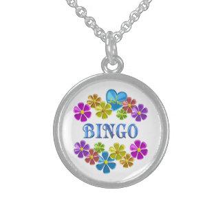 Jag älskar Bingo Sterling Silver Halsband