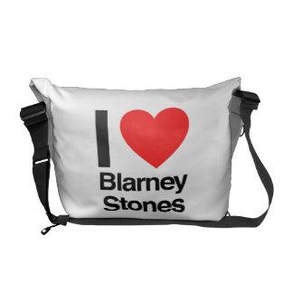 jag älskar blarneystenar kurir väskor