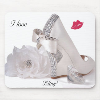 Jag älskar Bling! - Mousepad Musmatta