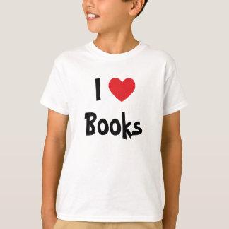 Jag älskar bokar t shirts