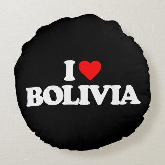 JAG ÄLSKAR BOLIVIA RUND KUDDE