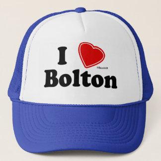 Jag älskar Bolton Truckerkeps