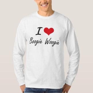 Jag älskar BOOGIEN WOOGIE Tshirts