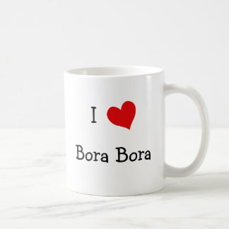 Jag älskar Bora Bora Kaffemugg