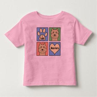 Jag älskar Bouviers Tee Shirt