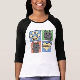 Jag älskar Bouviers Tee Shirts