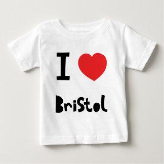 Jag älskar Bristol T-shirts