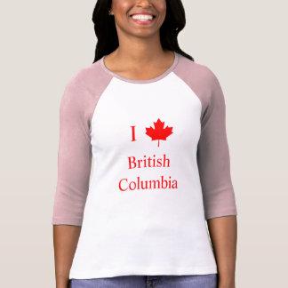Jag älskar British Columbia Tröjor