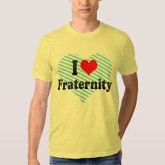 Jag älskar broderskap t-shirts