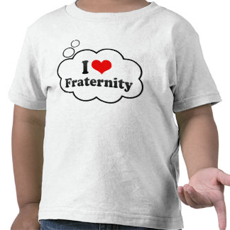 Jag älskar broderskap tröjor