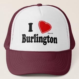Jag älskar Burlington Truckerkeps