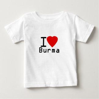 Jag älskar Burma Tee Shirt