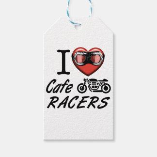 Jag älskar CafeRacers Presentetikett