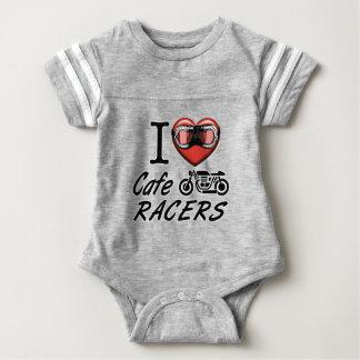 Jag älskar CafeRacers Tee Shirt
