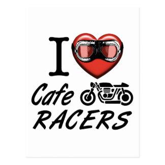 Jag älskar CafeRacers Vykort