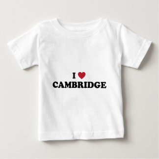 Jag älskar Cambridge Massachusetts Tee Shirts