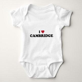 Jag älskar Cambridge Massachusetts Tröjor