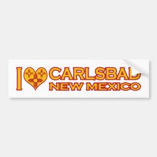 Jag älskar Carlsbad, NM Bildekal