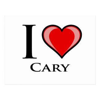 Jag älskar Cary Vykort