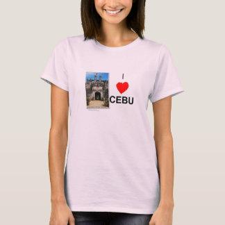 Jag älskar Cebu (fort San Pedro) T-shirt