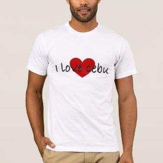 Jag älskar cebu t-shirt
