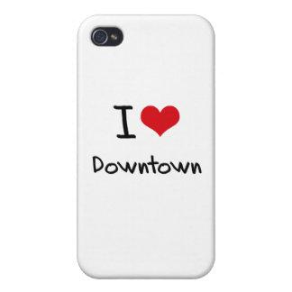 Jag älskar centra iPhone 4 fodraler