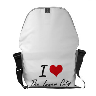 Jag älskar centra kurir väska