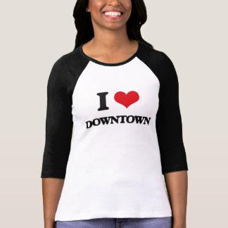 Jag älskar centra t shirts