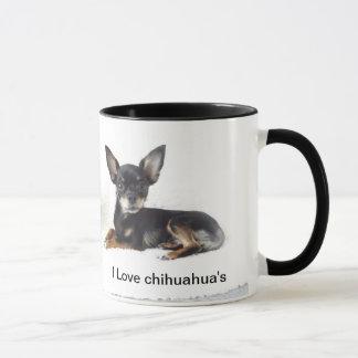 Jag älskar chihuahua'sens mugg
