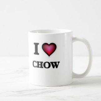 Jag älskar Chow Kaffemugg