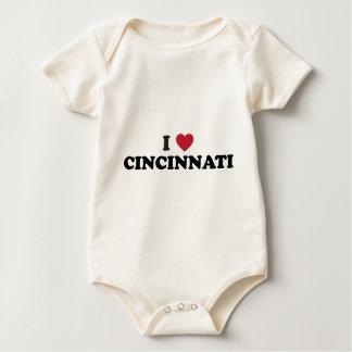 Jag älskar Cincinnati Ohio Sparkdräkter