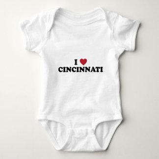 Jag älskar Cincinnati Ohio T-shirt