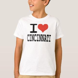 Jag älskar Cincinnati Tee Shirt