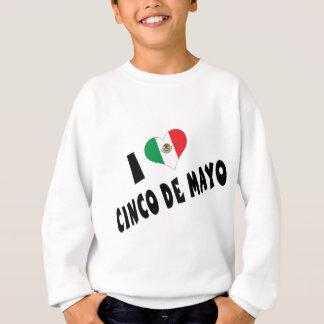 Jag älskar Cinco de Mayo ungar Tröjor