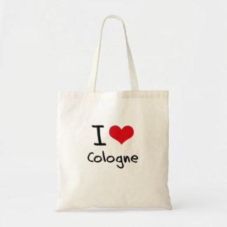 Jag älskar Cologne Budget Tygkasse